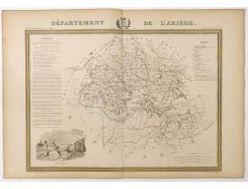 DONNET et MONIN. -  Département de l'Ariège.