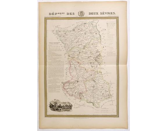 DONNET et MONIN. -  Département des Deux Sèvres.