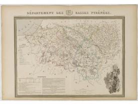 DONNET et MONIN. -  Département des Basses Pyrénées.