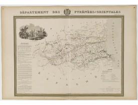 DONNET et MONIN. -  Département des Pyrénées Orientales.