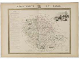 DONNET et MONIN. -  Département du Tarn.