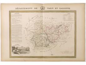 DONNET et MONIN. -  Département de Tarn et Garonne.