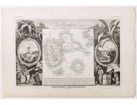 LEVASSEUR, V. -  Colonies Françaises (en Amérique). N°89.