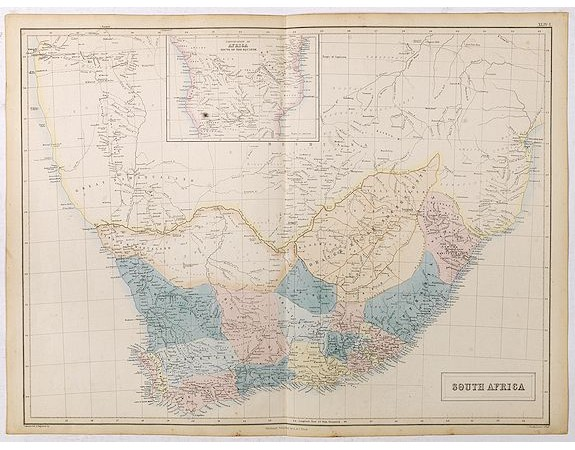 BLACK, A.& C. -  South Africa.