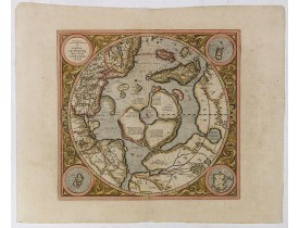 MERCATOR, G. / HONDIUS, J. -  SEPTENTRIONALIUM Terrarum descriptio. Per Gerardum Mercatore.