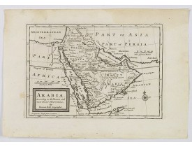 MOLL, H. -  Arabia. According to the Newest and Most Exact Observations.