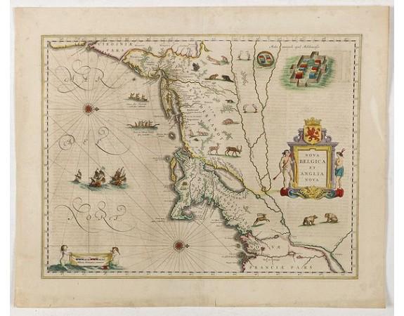 BLAEU, W. -  Nova Belgica et Anglia Nova.