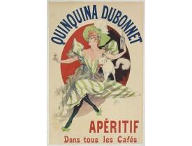 CHÉRET, J. -  Quinquina Dubonnet, apéritif dans tous les cafés.