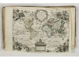 LE ROUGE, G. L. -  Atlas nouveau portatif à l'usage des militaires et du voyageur.
