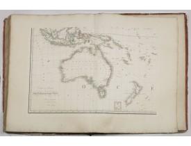 BRUÉ, A. H. -  Grand atlas universel ou collection de cartes encyprotypes, générales et détaillées des cinq parties du monde.
