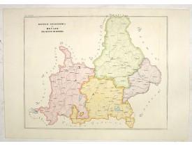 PETRI,  G. -  Province ecclesiastica di Monaco nel regno di Baviera (Tav LXXVII)
