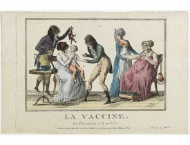DEPEUILLE. -  La vaccine ou l'inoculation a la mode.
