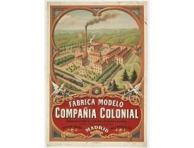 TESTU & MASSIN. -  Fabrica modelo de la Compania Colonial . . .