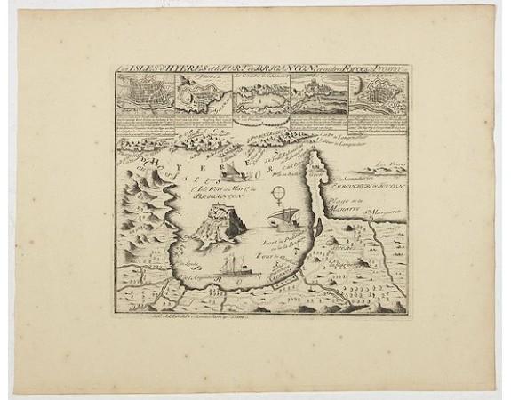 ALLARD, C. -  Les Iles d'Hyères et le fort de Brégançon et autres forces de Provence.