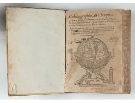 APIANUS, Petrus / FRISIUS, Gemma. -  Cosmographie, ou description des quatre parties du Monde…