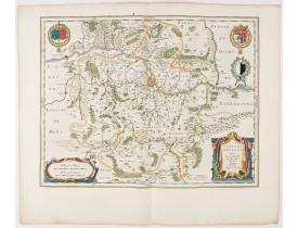 BLAEU, W. -  Territorium Metense. Auctore Ab. Fabert.. Le Pais Messin.