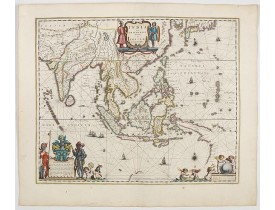 BLAEU, W. -  India quae Orientalis dicitur, et insulae adiacentes.
