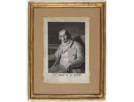 PETIT, D. / CARQUILLAT. -  (Portrait of Joseph-Marie Jacquard).