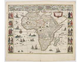 BLAEU, W. -  Africae nova descriptio.