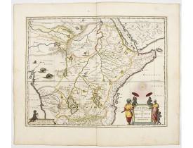 BLAEU, W. -  Aethiopia Superior vel Interior vulgo Abissinorum.
