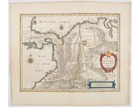 BLAEU, W. -  Terra Firma et Novum regnum Granatense et Propayan.