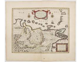 BLAEU, W. -  Venezuela cum parte Australi Novae Andalusiae.