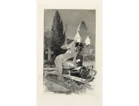 VAN MAELE, M. -  A rare suite of 12 original etchings by Martin van Maele to the famous work by Edmond Haracourt.