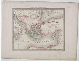MARMOCCHI, F. C. -  Bacino del Mediterraneo ( Parte orientale) . . .