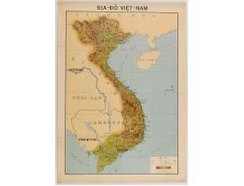 SERVICE GÉOGRAPHIQUE DE L'INDOCHINE. -  Carte économique de l'Indochine.