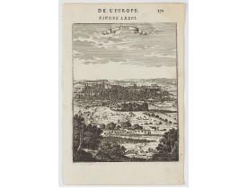 MANESSON MALLET, A. -  Plan de Paris.