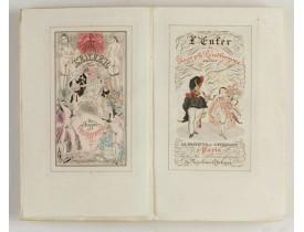ANONYMOUS -  L'enfer de Joseph Prudhomme. Savoir Deux cougnottes et La grisette et l'étudiant. Monnier Henry.