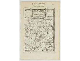 MANESSON MALLET, A. -  Royaume des… Royaume de Bourgogne sous la race des rois Bourguigons.