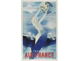 DE VALERIO, R. -  Air France dans tous les ciels.