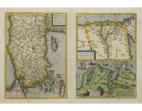 ORTELIUS, A. -  1) Natoliae,.. 2) Aegypti recentior.. 3) Carthaginis..