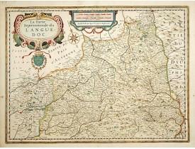 JANSSONIUS, J. -  La Partie Septentrionale du Languedoc.