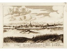CHÉREAU. -  Metz Ville considérable en Lorraine Capitalle du Pays Messin