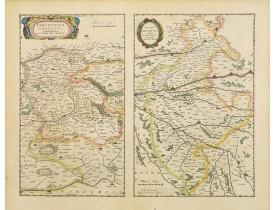 BLAEU, W. -  Perchensis comitatus. La Perche Comte/ Comitatus Blesensis.