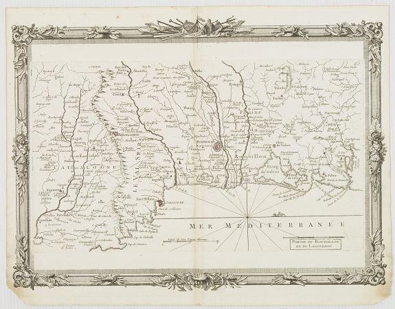 BRION DE LA TOUR, L. -  Partie du Roussillon et du Languedoc. (45)