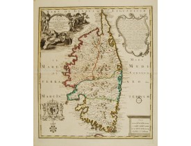 COVENS, J. / MORTIER, P. -  Insula Corsica olim Regni Titulo insignis.