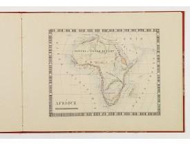 GIBERT, Marie. -  (Atlas manuscrit).