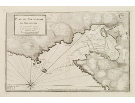 AYROUARD, J. -  Plan du Portvendre en Roussillon. . .