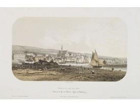JACOTTET, J. -  Trouville, vue du port.