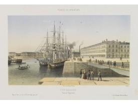 DEROY. -  Cherbourg - Bassin Napoléon.