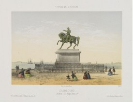 DEROY. -  Cherbourg - Statue de Napoléon 1er.