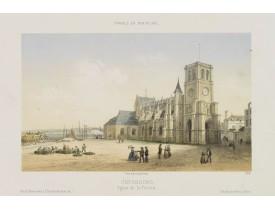 DEROY. -  Cherbourg - Eglise de la Trinité.