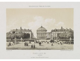 ASSELINEAU, L. A. -  Place Louis XVI au Hâvre.
