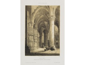 DEROY. -  Chartres. Intérieur de la Cathédrale - Cloture du Choeur.