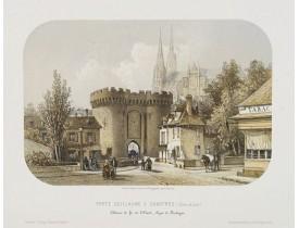 JACOTTET, J. -  Porte Guillaume à Chartres..