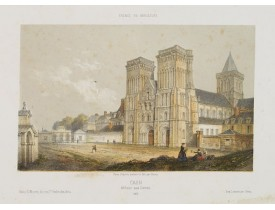DEROY. -  Caen. Abbaye aux Dames.