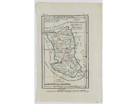 DELAPORTE, L'Abbé. -  Carte du Département des Deux Sèvres.